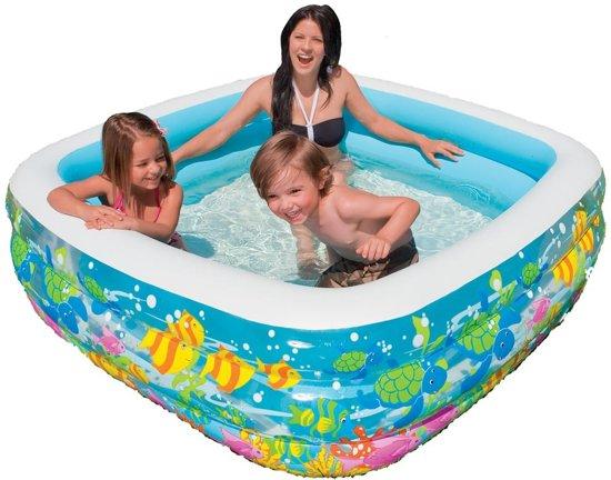 Intex helder zicht aquariumzwembad 159x159x50cm