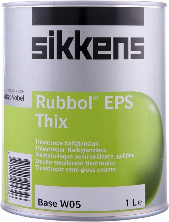 Sikkens Rubbol EPS Thix RAL7021 Zwartgrijs 1 Liter