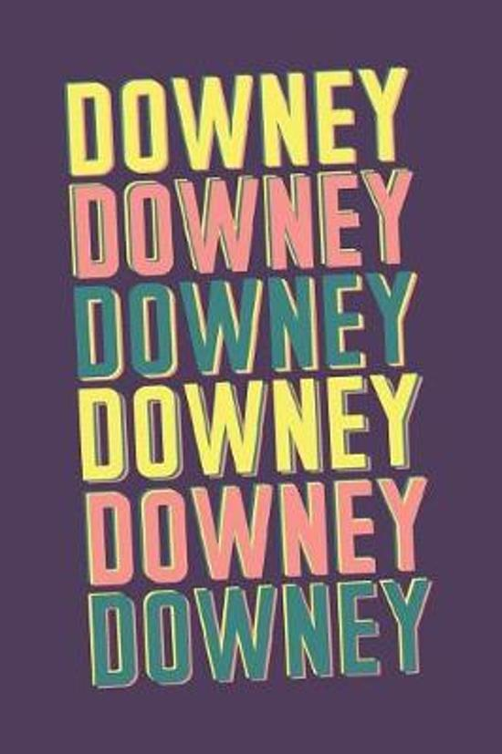 Downey Notebook