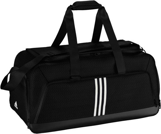 3e8cb8a4f33 bol.com | adidas 3 Stripes Performance Team Bag - Sporttas - L - Zwart