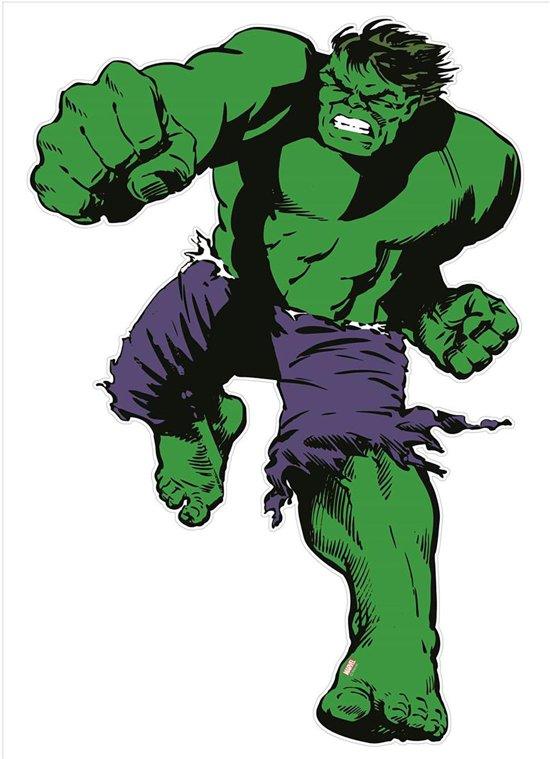 Marvel Comics - Hulk - Muursticker - Groen - 145x105 cm