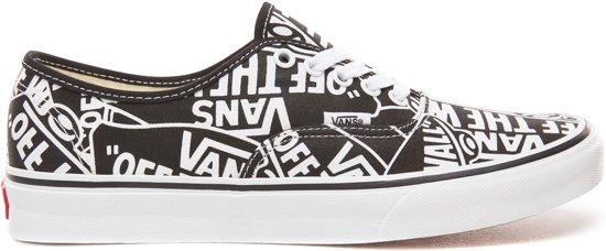 5 Maat Zwart wit Vans 42 Unisex Sneakers P1xSBq6nt