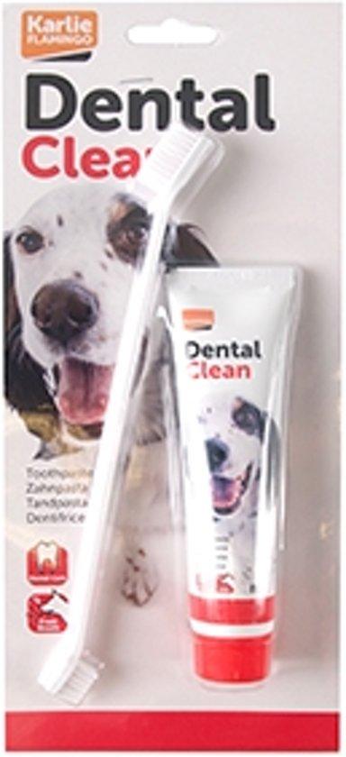 Tandpasta 85 gr + borstel voor je hond