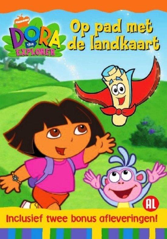 Dora The Explorer - Op Pad Met De Landkaart