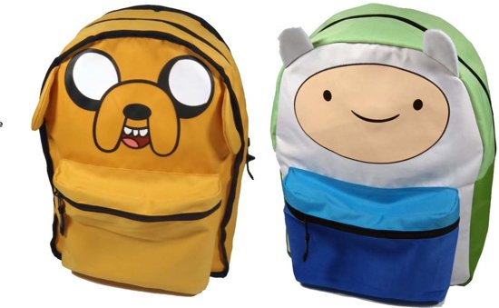 Omkeerbare Time RugzakFinnamp; Jake Adventure Adventure Adventure Jake Time Omkeerbare RugzakFinnamp; f6gb7vyY