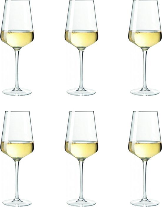 Leonardo Puccini Witte Wijnglas - 6 Stuks