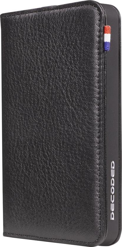 Decoded Leather Wallet Case - Leren hoesje voor iPhone 5 / 5s / SE - Zwart