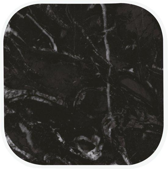 Zak!Designs Osmos Onderzetter - Melamine - 10 x 10 x 1,1 cm - Set van 4 Stuks - Zwart
