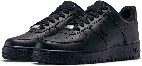 9ac0a67e1a631 Nike WMNS Air Force 1 '07 - Sneakers - Zwart - Dames - Maat 40.5