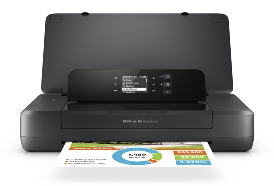 HP Officejet 200 - Mobile Printer
