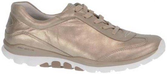 Gabor Rollingsoft Dames Lage sneakers - Beige - Maat 38.5