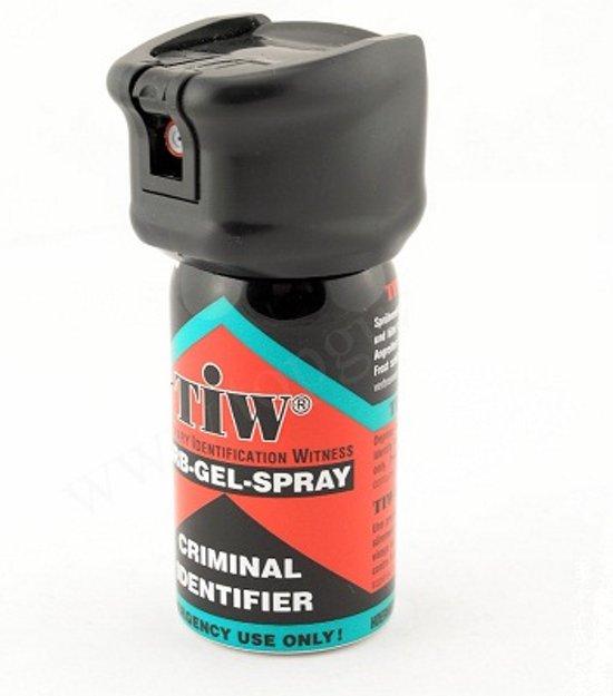 Zelf verdedigings Farb-Gel-Spray Aternatief voor Pepperspray - 100% LEGAAL
