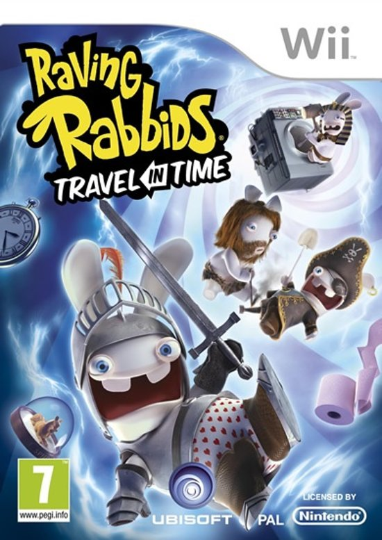 Raving Rabbids, Travel in Time  Wii kopen