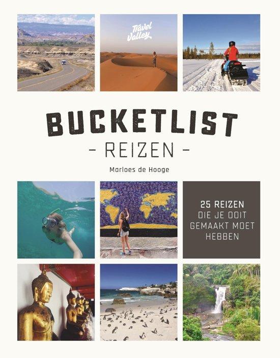 Boek cover Bucketlist reizen van Marloes de Hooge (Onbekend)