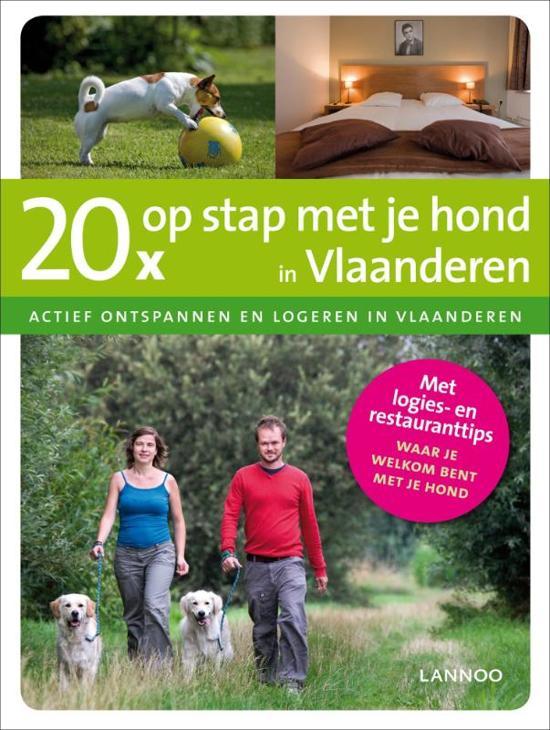 20 x op stap met je hond in Vlaanderen
