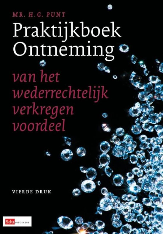 Cover van het boek 'Praktijkboek Ontneming / druk 4' van H.G. Punt