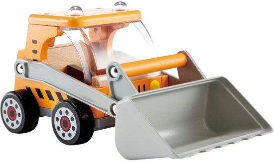 Hape Bulldozer Hout - Werkvoertuig