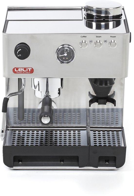 Anita RVS espressomachine met bonenmolen in Bakhuisbos