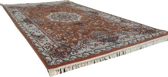 Vloerkleed klassiek Tachmahal perzisch patroon Roze 120x170 cm