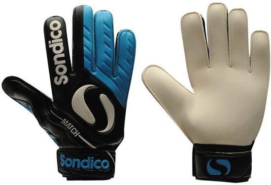 Sondico Keepershandschoenen Match - Heren - Zwart/Blauw - 11