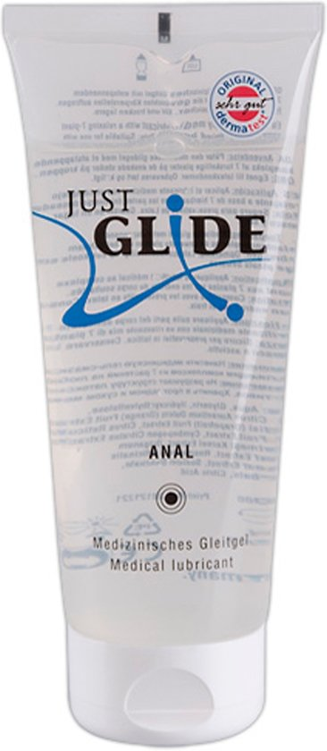 Just Glide Anaal Glijmiddel 200 ml