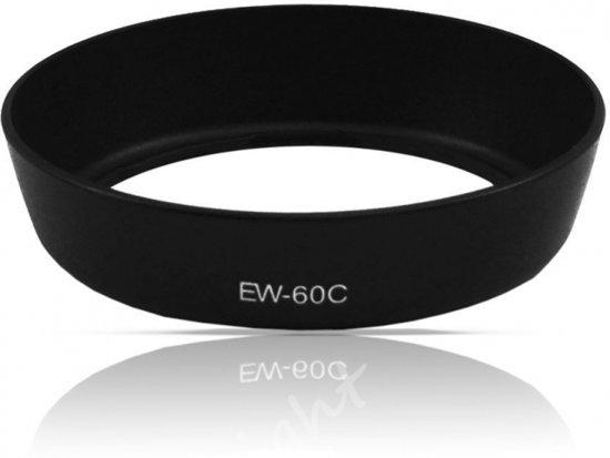 Zonnekap type EW-60C / Lenshood voor Canon objectief (Huismerk)
