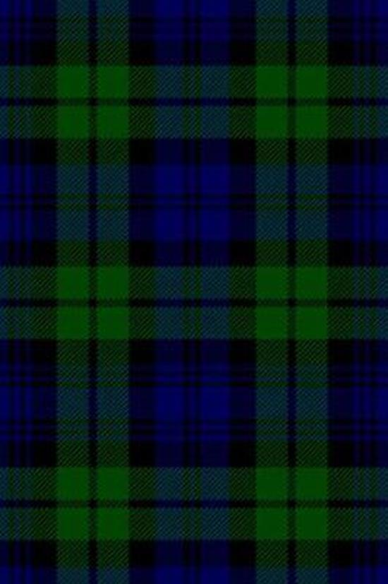 Clan Bannatyne Tartan 100 Page Lined Journal/Notebook