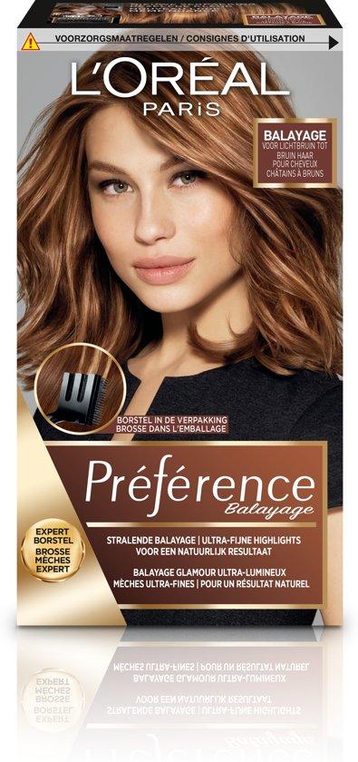 L'Oréal Paris Préférence Haarverf - 4 Middenbruin Tot Lichtbruin Haar
