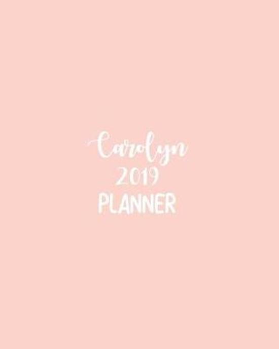Carolyn 2019 Planner