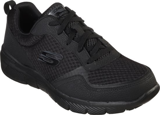Sneakers 48 Black 5 Skechers 0 Heren Maat Advantage 3 Flex wYwqf8I4