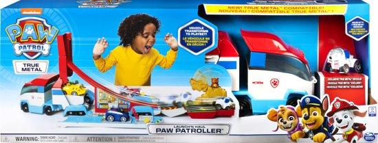 Afbeelding van PAW Patrol True Metal PAW Patroller met metalen voertuig speelgoed