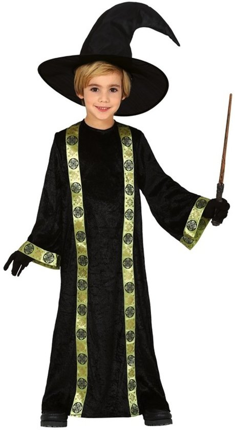Halloween Pak.Halloween Pak Tovenaar Kostuum Voor Kinderen Halloweenoutfits Voor Jongens Meisjes 7 9 Jaar 122 134