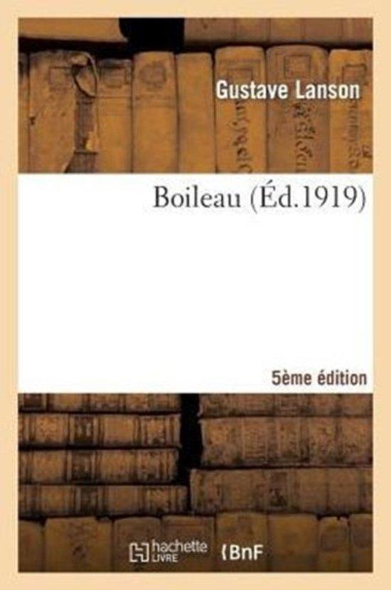 Boileau 5e �dition