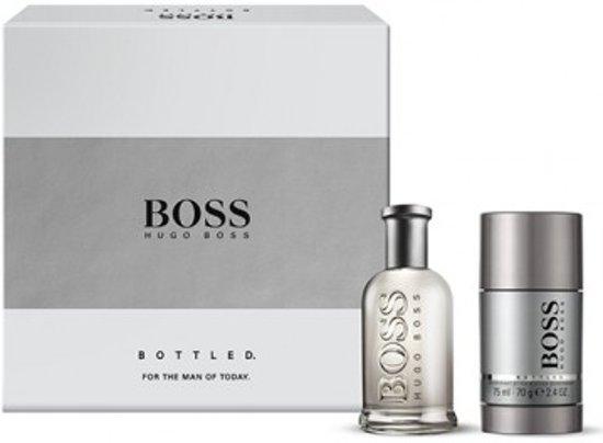Hugo Boss Bottled Giftset EDT 50 ml + Deostick 75 ml
