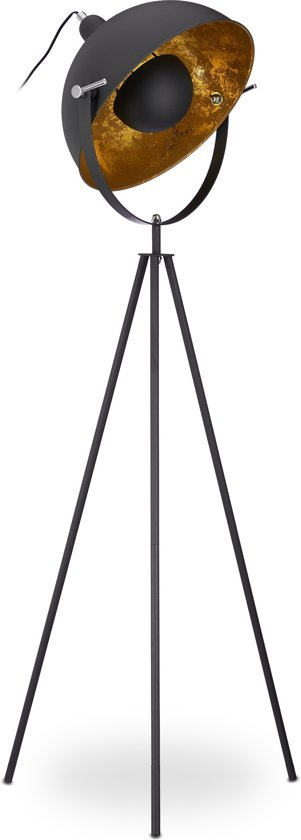 bol.com | relaxdays Staande lamp - vloerlamp - leeslamp - woonkamer ...