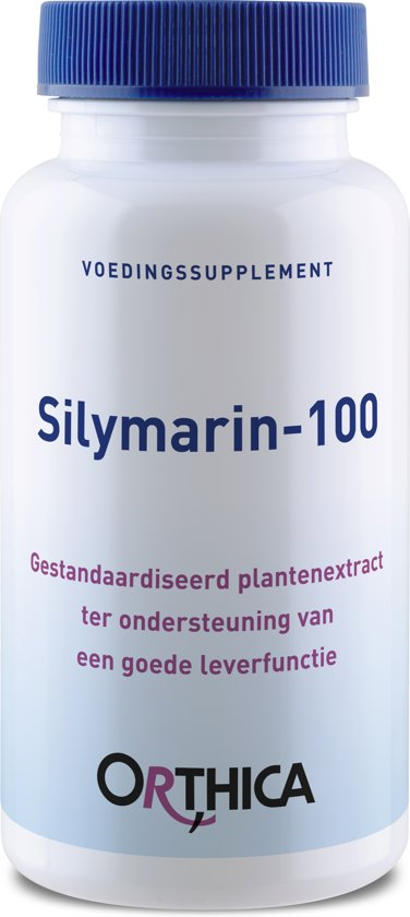 Orthica - Silymarin-100 mg Capsules 90 st - Voedingssupplement