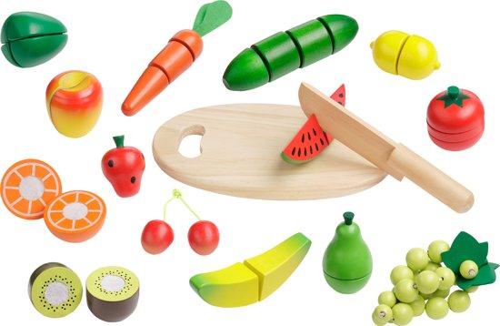 """howa Speelgoed Snijset  """"Fruit en Groenten"""" 16 stuks 4867"""