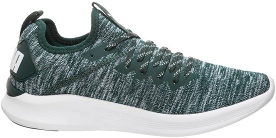 Puma Ignite Flash EvoKNIT groen sneakers dames (190511-16)