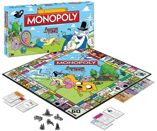 Monopoly Adventure Time - Bordspel