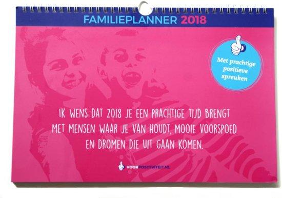 Voor Positiviteit familieplanner 2018