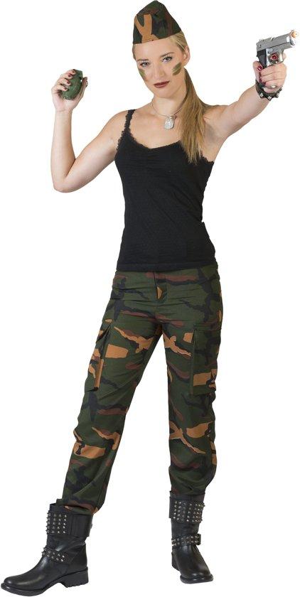 Carnavalskleding Leger Dames.Bol Com Leger Oorlog Kostuum Leger Dame Jenny Vrouw Maat