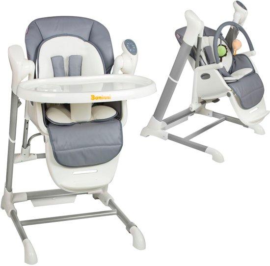 Kinderstoel Baby 0 Maanden.Bol Com Kinderstoel Swing Baninni Ugo Grijs