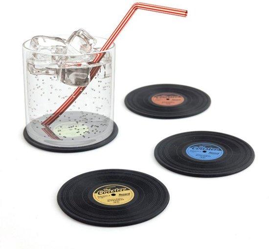 Balvi set van 4 LP onderzetters The Coaster
