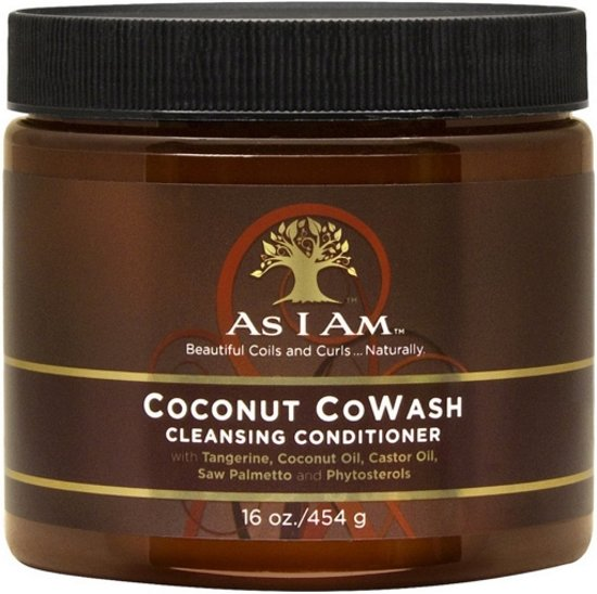 As I Am Naturally Coconut Co-Wash 454 gr