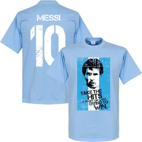 Messi 10 Argentinië Flag T shirtXs shQtCxBrd