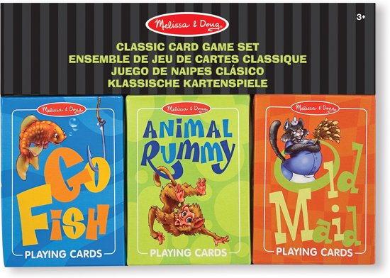 Afbeelding van het spel Melissa & Doug - Classic Card Game Set