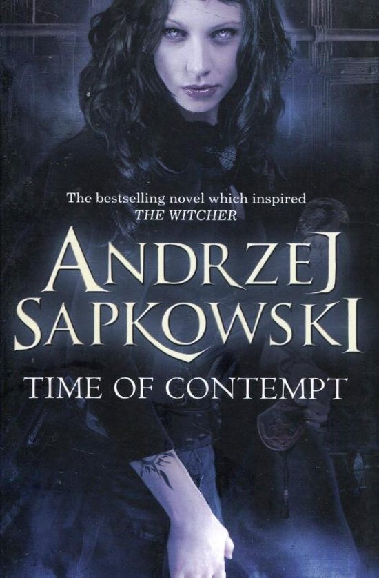 Boek cover Time of Contempt van Andrzej Sapkowski (Paperback)