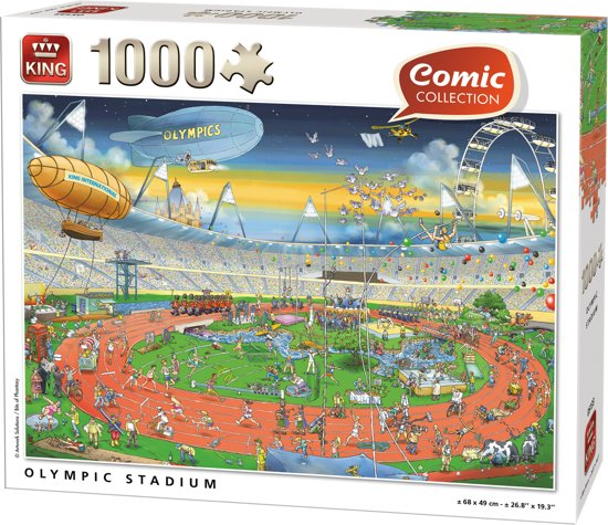 King Puzzel - Comic London Olympic