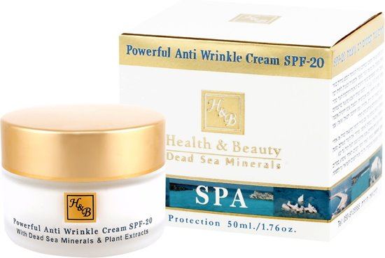 Daycream - Anti-Wrinkle - with SPF-20 - 50 ml