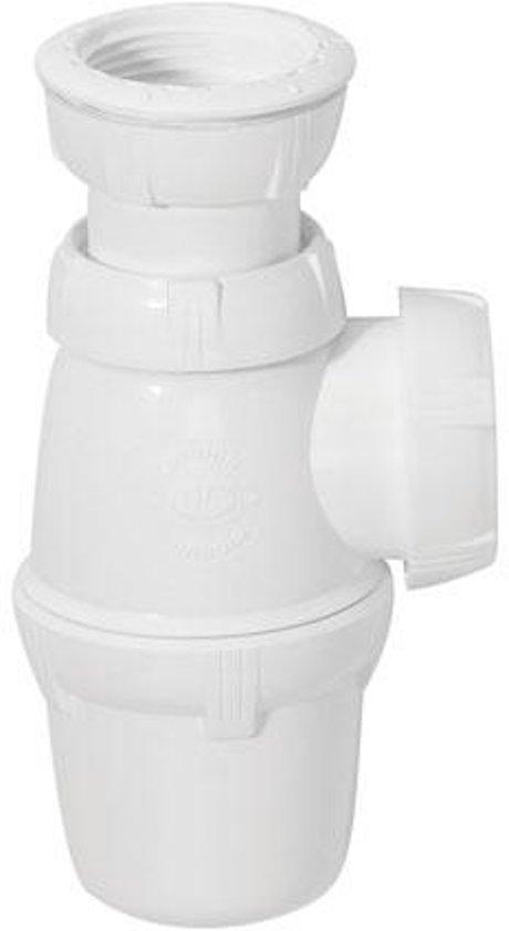 Wirquin sifon voor wastafel regelbaar Ø 32 mm
